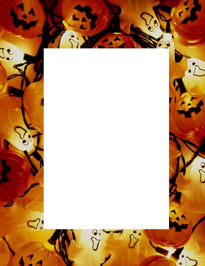 Niedlich Halloween Bilderrahmen Zeitgenössisch - Benutzerdefinierte ...